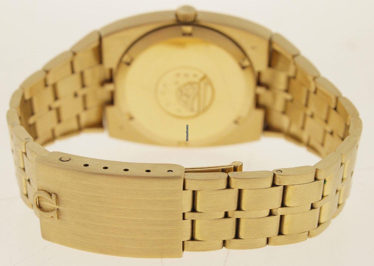 Omega Gold Uhr