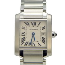 Cartier Tank Française 2465 W51011Q3 Price reduced pre-owned