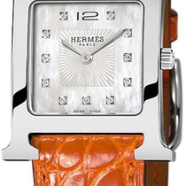 Hermès Steel 26mm Quartz Heure H new United States of America, New York, Airmont