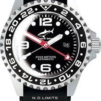 Chris Benz Deep 2000m Automatic GMT Bubble CB-2000A-D2-KB...