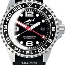 Chris Benz Steel Automatic 2000A-D2-KB new