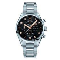 TAG Heuer Men's CV2A1AB.BA0738 Carrera Watch Auto Calibre 16...