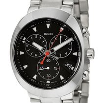 Rado D-Star Quartz Chronograph Ceramos & Steel Mens Watch...