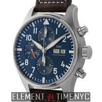IWC IW3777-14 Steel Pilot Chronograph 43mm new United States of America, New York, New York