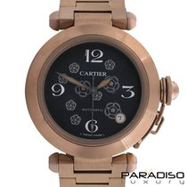 Cartier Pasha Black Venom Limited Edition Rose Gold
