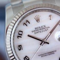 Rolex Datejust 36 #116234 Oyster - Arabic Pink MOP - Like New