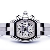 Cartier Roadster pre-owned 43mm Steel