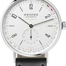 NOMOS Tangente Neomatik Steel 40.5mm White United States of America, New York, Airmont