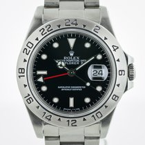 Rolex Explorer II, ref 16570, Dual Time GMT, Steel, Black Dial