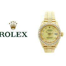 Rolex 26mm Remontage automatique 1987 occasion Lady-Datejust Or