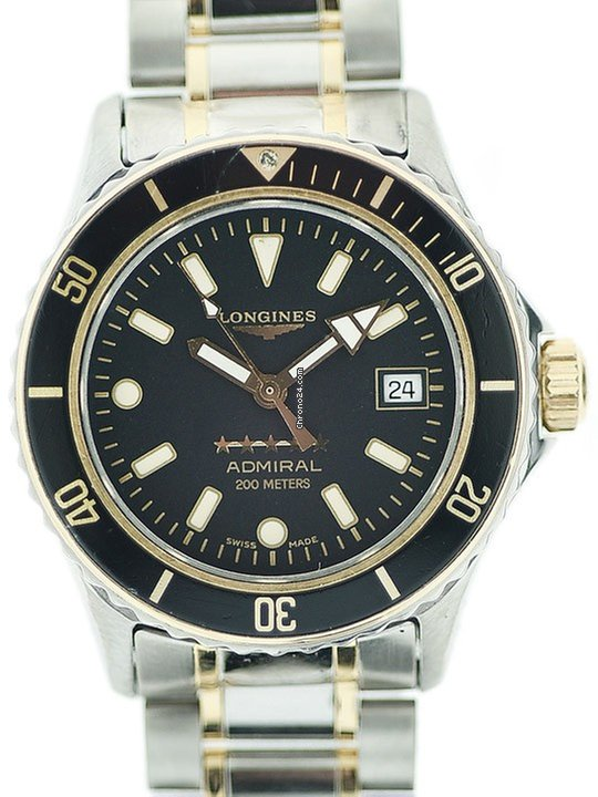 Longines Admiral pre-owned