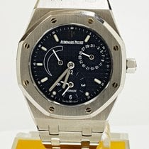 Audemars Piguet 25730ST Stål 1994 Royal Oak Dual Time 36mm begagnad