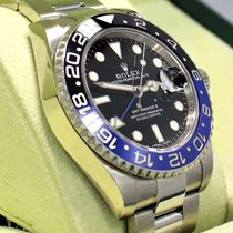 Rolex Gmt-master II 116710 Blnr Batman Black/blue Ceramic...