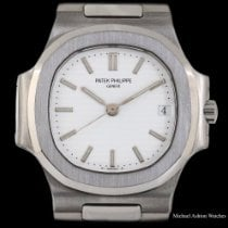 Patek Philippe pre-owned Automatic 37mm White