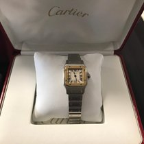 Cartier Santos (submodel) pre-owned Gold/Steel