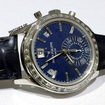Patek Philippe Annual Calendar Chronograph gebraucht 40.5mm Platin