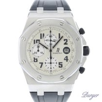 Audemars Piguet Royal Oak Offshore Chronograph Staal 44mm Wit Arabisch Nederland, Maastricht