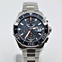 TAG Heuer Aquaracer 300M nuevo Automático Cronógrafo Reloj con estuche y documentos originales CAY211B.BA0927