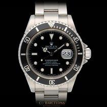 Rolex Submariner Date usados 40mm Negro Fecha Acero