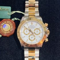 Rolex Daytona Gold/Steel 40mm White No numerals United States of America, Maryland, Rockville