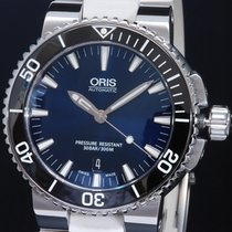 Oris Steel 43mm Automatic 01 733 7653 4135-07 4 26 34EB new