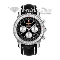 Breitling Steel Automatic Black 46mm pre-owned Navitimer 01 (46 MM)