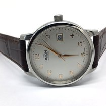 Union Glashütte Steel 38mm Automatic 26-11-16-02-10 Occasion pre-owned