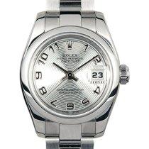 Rolex Lady-Datejust Acier 26mm Argent Arabes