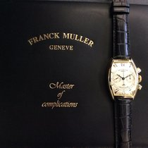 Franck Muller Casablanca Yellow gold 32mm Silver