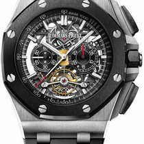 Audemars Piguet Royal Oak Offshore Tourbillon Chronograph Titanio 44mm Transparente