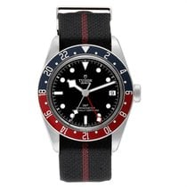Tudor Steel Automatic Black 41mm new Black Bay GMT