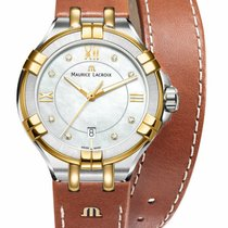 Maurice Lacroix AIKON Steel 30mm Mother of pearl Roman numerals United States of America, New York, Monsey