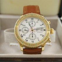 Longines Lindbergh Hour Angle Chronograph Gold Full Set