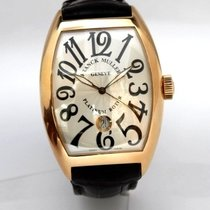 Franck Muller Rose Gold Leather Strap 8880 SC DT