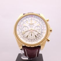 Breitling Special Edition Bentley 6.75 White 48MM Yellow Gold...