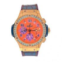 Hublot Big Bang Pop Art 18K Yellow Gold Automatic Watch...