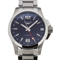 Longines Conquest 41mm Automatic GMT