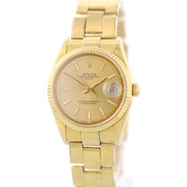 Rolex Oyster Perpetual Date 15238 18K Yellow Gold Watch