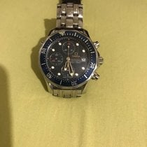 Omega Seamaster Diver 300 M Steel Blue No numerals