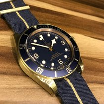 Tudor 43mm Automatic 2018 new Black Bay Bronze Blue