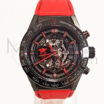 "TAG Heuer Carrera Caliber Heuer 01 ""red Devil"" 45mm – Car2a1j...."
