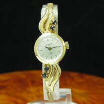 Condor 115 835 Silber Vergoldet / Gold Mantel Damenuhr