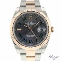 Rolex Datejust II nuevo 2018 Automático Reloj con estuche y documentos originales 126331