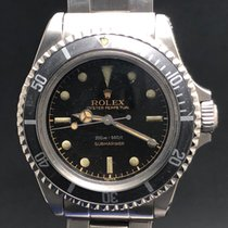 Rolex Submariner 5512 SCG with Black Glossy Dial