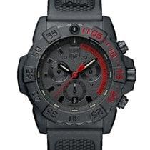Luminox Carbono 45mm Cuarzo XS.3581.EY.F LUMINOX SEA SERIES Navy Seal Chrono Rosso Nero nuevo