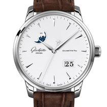 Glashütte Original Senator Excellence neu 2020 Automatik Uhr mit Original-Box und Original-Papieren 36-04-05-02-31