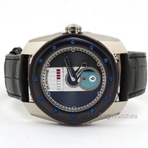 De Bethune pre-owned Automatic 45.5mm Blue Sapphire crystal
