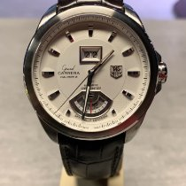 TAG Heuer Grand Carrera Staal 42.5mm Geen cijfers