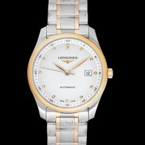 Longines Rose gold Automatic White 40mm new Master Collection