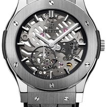 Hublot Classic Fusion Ultra-Thin Titanium 45mm Transparent No numerals United States of America, New York, New York
